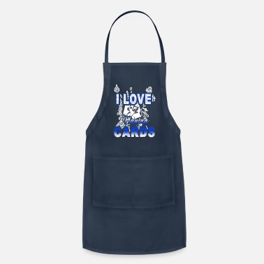 Playing I Love Playing Cards Shirt - Apron
