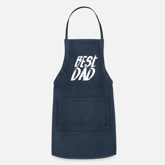Father's Day Aprons - Father's Day Father's Day Father's Day - Apron navy