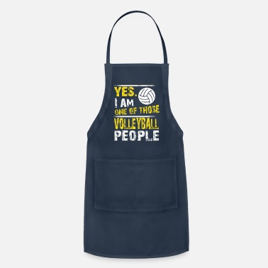 One of those VOLLEYBALL people - Apron
