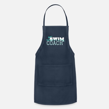 Coach Swim Swim Coach Swimming Pool Instructor Teacher Gift - Apron