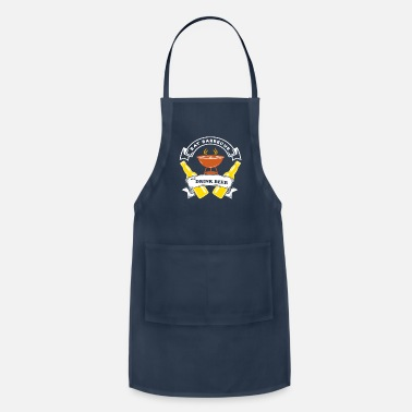 Bacon Eat Barbecue drink beer - Apron