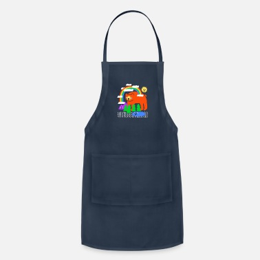 Funky Funky Forest - Apron