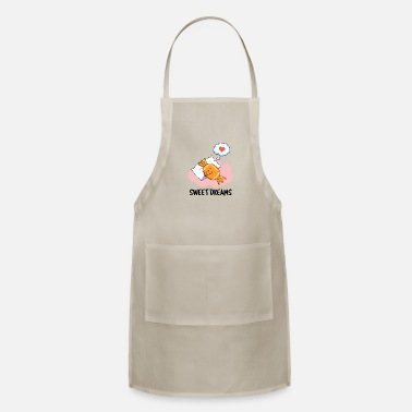 Humor Sweet Dreams Cute Candy Pun - Apron