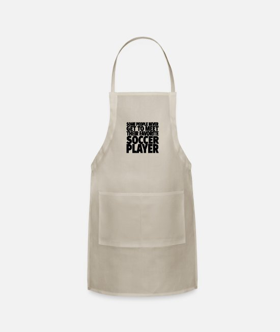 Goal Aprons - Soccer Player - Apron natural