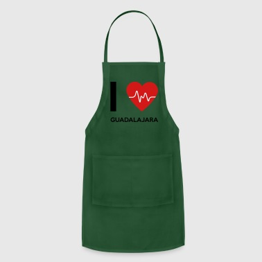 I Love Guadalajara - Adjustable Apron