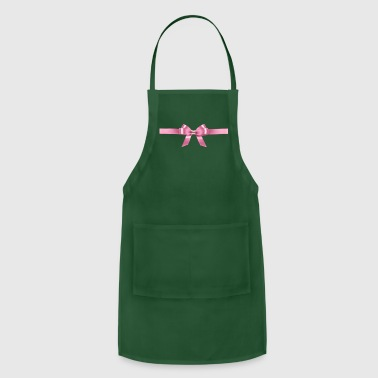 Pink Ribbon - Adjustable Apron