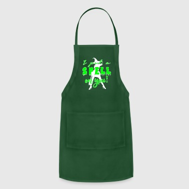Love You I put a SPELL on YOU! - Adjustable Apron