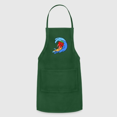 Sporty Sporty Strawberry - Adjustable Apron