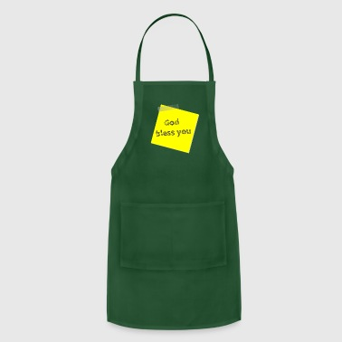Bless You god bless you - Adjustable Apron