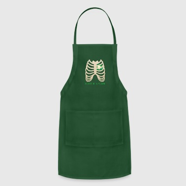 Bless You Heart of a Vegan - Adjustable Apron