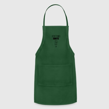 The list - Adjustable Apron