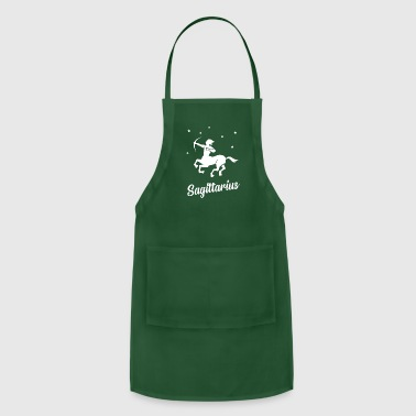 Signora sagittarius star sign - Adjustable Apron