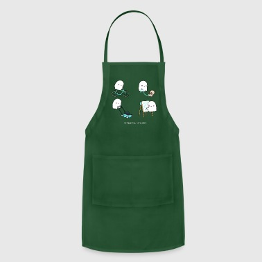 Paranormal activities - Adjustable Apron