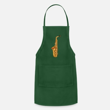 Wood Wind Golden Saxophone - Adjustable Apron