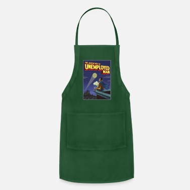 Unemployed The Adventure of Unemployed Man - Adjustable Apron
