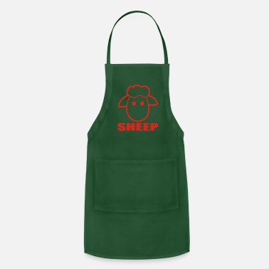 Movie Quote SHEEP funny - Adjustable Apron