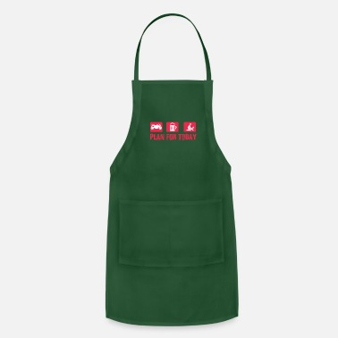 Motorcycle beer Tits Simple Man Gift - Apron