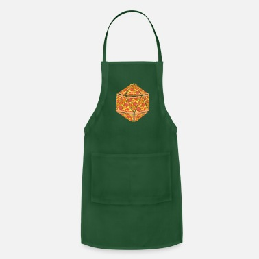 Medieval Pizza Dice Dungeon RPG tabletop gamer gift - Apron