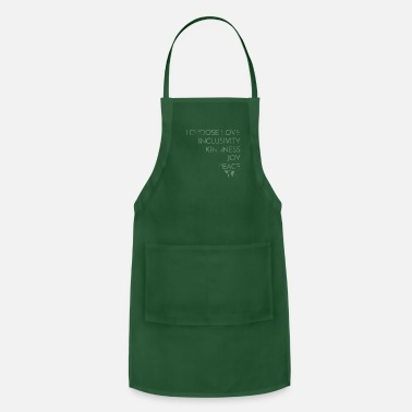 I Choose Love Love Trumps Hate Premium T Shirt - Apron