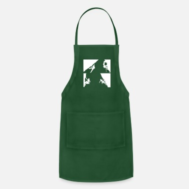 Mountain Climbing Mountain Climbing - Adjustable Apron