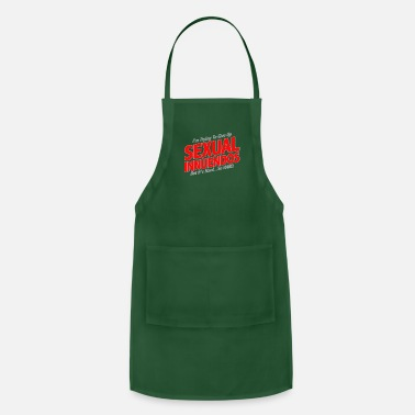 Innuendo I'm Trying To Give Up Sexual Innuendos - Adjustable Apron