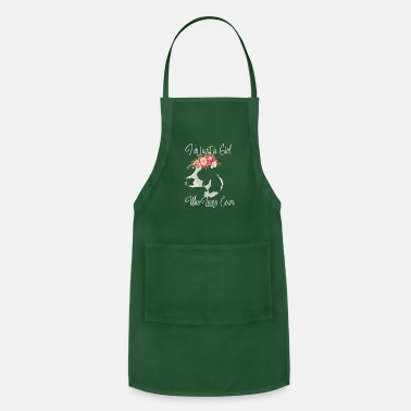 Cow-girl Girl who loves Cows Cow Girl Women T-Shirt Gift - Adjustable Apron