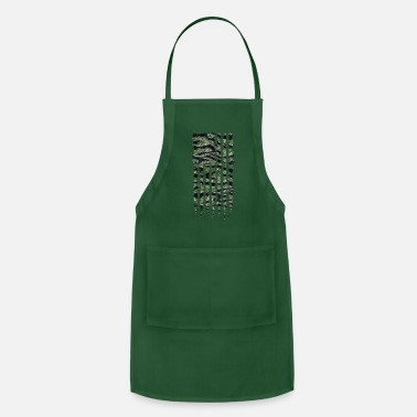 Special Forces Vietnam National Flag Series: USA Vietnam Special Forces - Apron