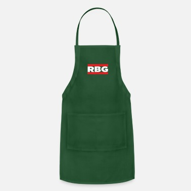 Old School Rap RBG Ruth Bader Ginsburg Old School Rap Short Sleev - Apron