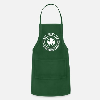 Day St. Patrick's day T-Shirt Happy St. Patrick's day - Apron
