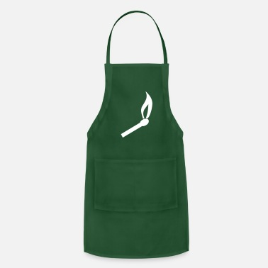 Match Burning Match - Apron
