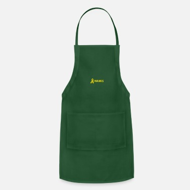 Yellow Ribbon Thanks Troops Army Respect Ribbon Yellow - Adjustable Apron
