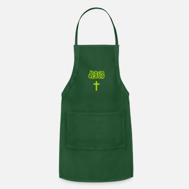 Cross Jesus with cross - Apron