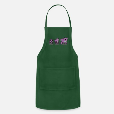 Fathers Day Zzzzombies New - Adjustable Apron