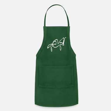 Crook Crooked race car - Apron