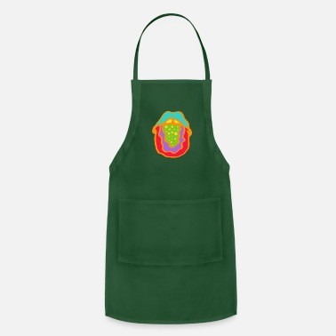 Tongue Psychedelic Tongue - Adjustable Apron