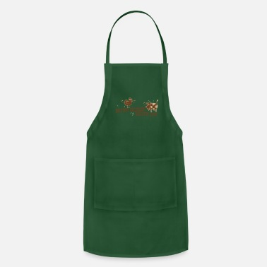 Brown BROWN CHICKEN BROWN COW - Apron