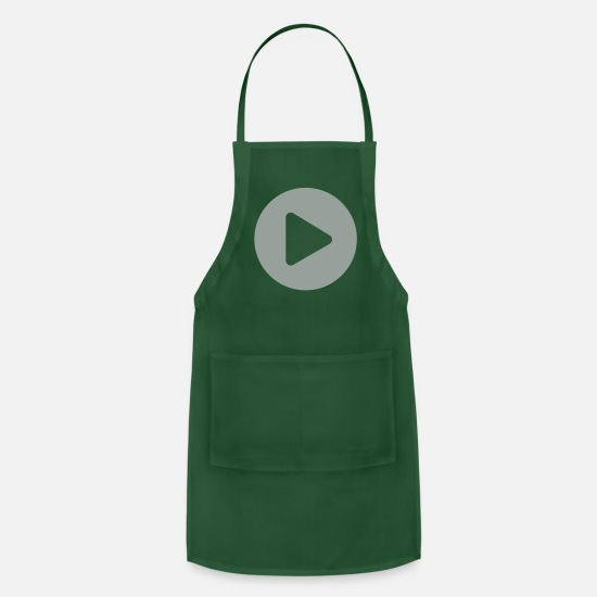 Play Aprons - Play Circle - Apron forest green