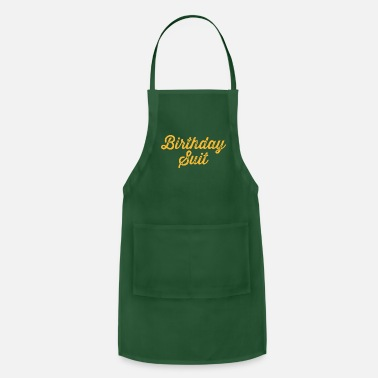 Suits birthday suit - Apron