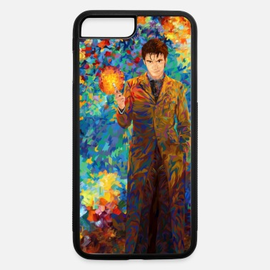 Screwdriver 10th Doctor Who With Screwdriver Abstract Art case - iPhone 7 & 8 Plus Case