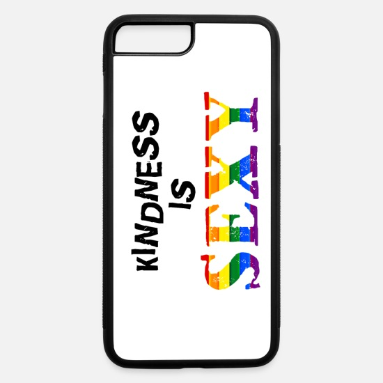 Sexy iPhone Cases - Kindness is SEXY - iPhone 7 & 8 Plus Case white/black