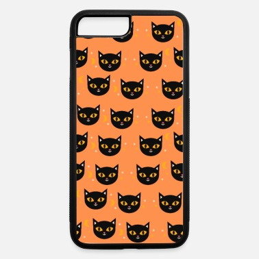 Phone Hallowen Black Cat Phone Case - iPhone 7 & 8 Plus Case