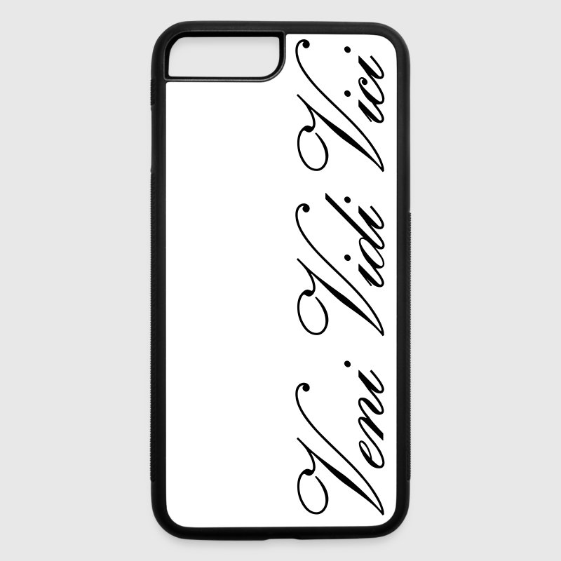 Zyzz Veni Vidi Vici Calli text - iPhone 7 Plus/8 Plus Rubber Case