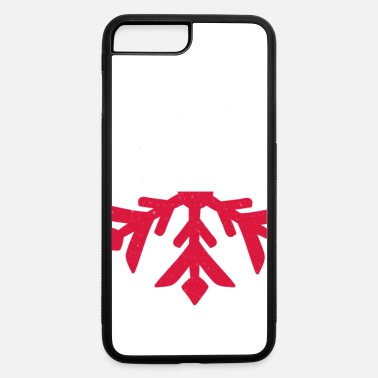 Poland Flag Winter Snowflake Design - iPhone 7 & 8 Plus Case