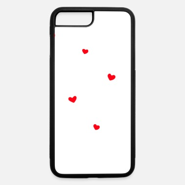 Red Hearts - iPhone 7 & 8 Plus Case