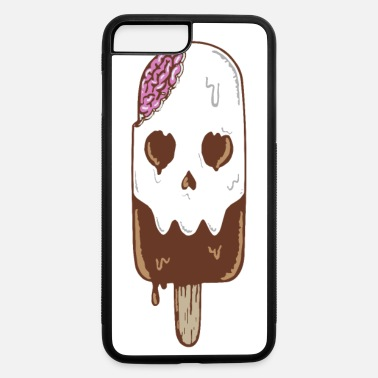 Skull Sweet melting ice cream skull - iPhone 7 & 8 Plus Case