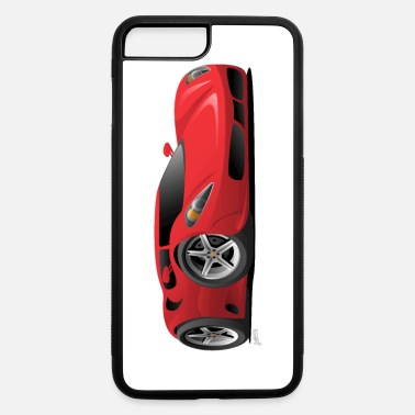 Sport Hot Red Hot European Style Sports-Car Cartoon - iPhone 7 & 8 Plus Case