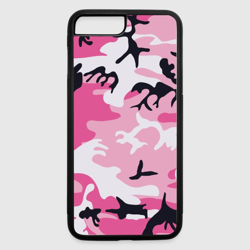 Pink Camo Camouflage - iPhone 7 Plus/8 Plus Rubber Case