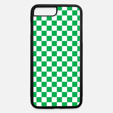 Green Checkerboard - iPhone 7 Plus/8 Plus Rubber Case
