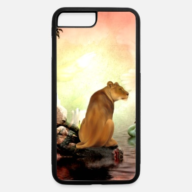 Lioness Wonderful lioness - iPhone 7 Plus/8 Plus Rubber Case