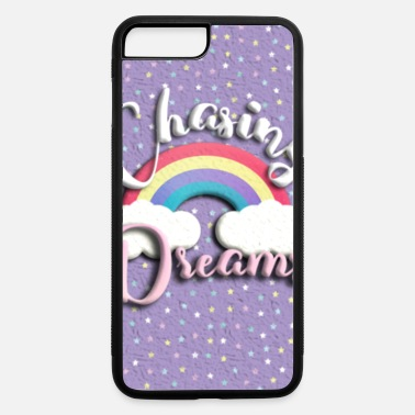 Chasing Rainbows chasing dreams rainbow violet with stars - iPhone 7 & 8 Plus Case